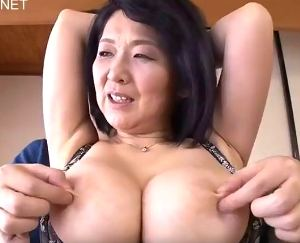 【初撮り/上島美都子】爆乳デカ尻がスケベすぎるムッチリ五十路熟女